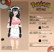 Poke-Village App: Momo~ by gorogoroiu