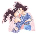 Goku and Chichi by lauretta18