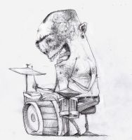 Willy drummer by gabrio76