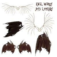 Evil Wings by WitsResources