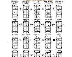 Bass guitar notes by Arbiter10123
