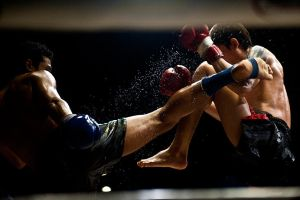 Muay Thai III by EllinorBergman