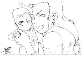 NARUTO: Mommy's little fawn by Lady-Valiant