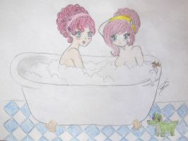 In The Tub by StrawberrySprinkle