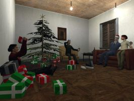 Christmas cheers by Garrys-Mod-Dude