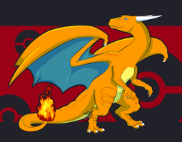 King of Flames - coloured by Chagial