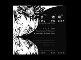 My name card by SantaFung