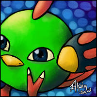 Pokemon Card - Natu by alpin-j