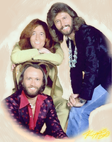The Brothers Gibb by kippis05