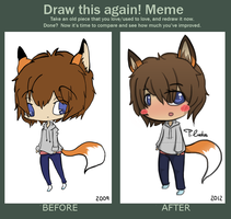 Draw this again meme by phillipant