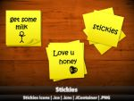 Stickies icons by MDGraphs