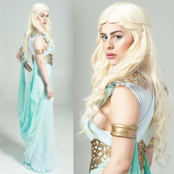 Khalessi (Daenerys) cosplay from Game of Thrones by AzzyLand