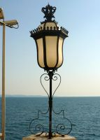 Castle Lamp_Stock by MJ84-StockPhotos