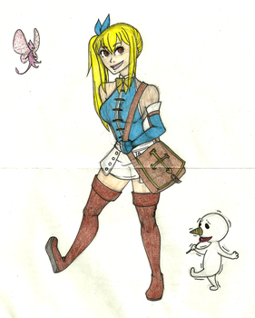 0 - The Fool - Lucy by Nadalien