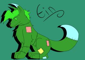 .:Chibi Commission-Ein:. by XxDamianxCrossxX