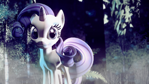 Rarity's a beautiful poneh by zOMG-a-DropBear