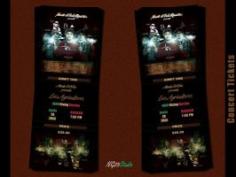 Concert Tickets by NG25Lab