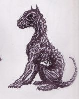 Undead dog by McTats