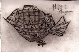 H.M.S. Claymour by p0w3rmad