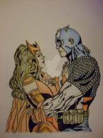 CA and SW - Step 3 - Fine Liner by JA-BohoQuirks