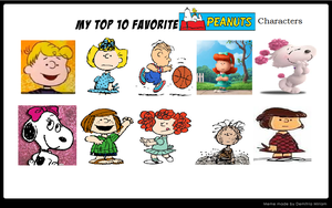My Top 10 Favorite Peanuts Characters by Mileymouse101