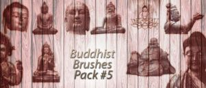 Buddhist Brushes Pack 5 by lotus82