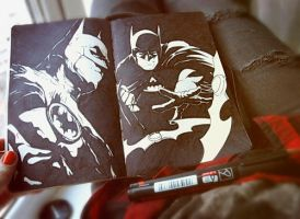 Batman by MaryRiotJane