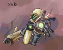 029 - Shark Ray by DBed