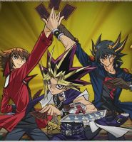 Yu Gi Oh 10th year aniversary by TimmyDM