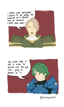 Something that bothered me about Fire Emblem SoV by Ariarin