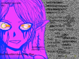 BEN DROWNED:GLITCH:: by hetaliagirl101