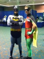 The Dark Knight and the Boy Wonder by 6SeaCat9