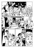 Nightwing and Robin page 1 sample by CanalesComics