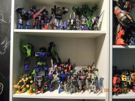 Decepticons Collection Work In Progress by forever-at-peace