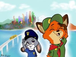 The Future of Zootopia by Azn-Chipmunk