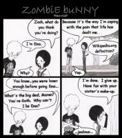 Zombie Bunny: Emo Kid by SiNicaLLY-diSTuRbEd