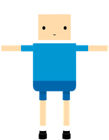 MMD WIP Finn The Human! by KiddaDesu