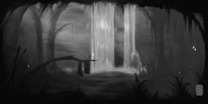The Waterfall by Aikurisu