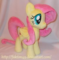 15 inches Fluttershy by faktim49