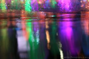 fountains by spectrephotography
