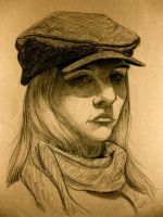 Head Drawing 21 by Doodlee-a