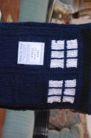 Tardis Tea Cozy Complete by oldfatwoman