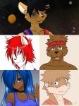 The Dreamkeepers members collage by kdrj4402
