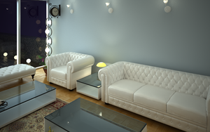 Interior_White_Night a by Al-Kabeer