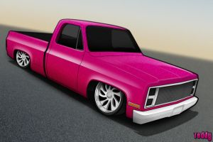 Chevy truck toon by DJTeDDy