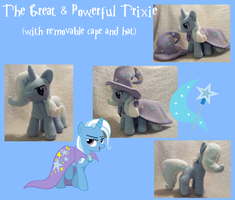 The Great and Powerful Trixie by Satokit