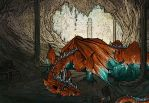 The Dragons Lair by ArtyMissK