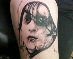 Edward Scissorhands by TwoToneTattoo