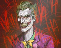 Joker sketch by scottssketches