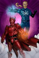 Commish : Fire and Ice by wansworld